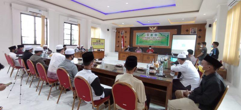 FKPP Tanjabbar Saat bersilaturahmi di Polres Tanjabbar untuk Doa Bersama