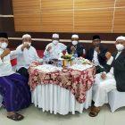Bupati, Wabup, Sekda dan Tokoh Masyarakat yang hadir di Rumdis Bupati pada hari raya Idulfitri 1442 H/2021